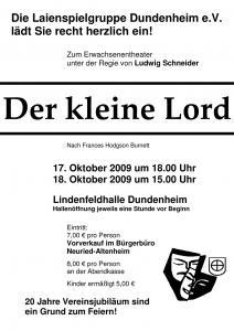 Plakat-Der-kleine-Lord-2009
