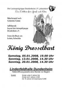 Plakat-Koenig-Drosselbart-2008