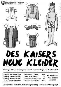 Plakat-des-kaisers-neue-Kleider-2014