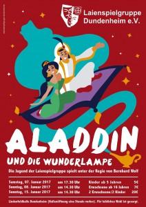 Plakat Aladdin 2017