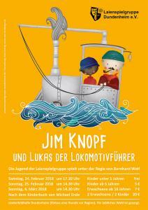 Plakat Jim Knopf 2018